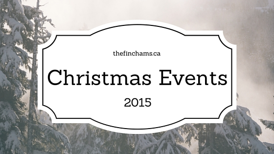 thefinchams.ca: Christmas Events in the Magnetawan Area