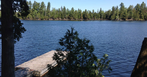 Doe Lake waterfront, Katrine Ontario