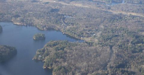 Rankin Lake cottages