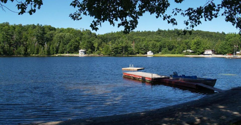 Star Lake waterfront, Parry sound