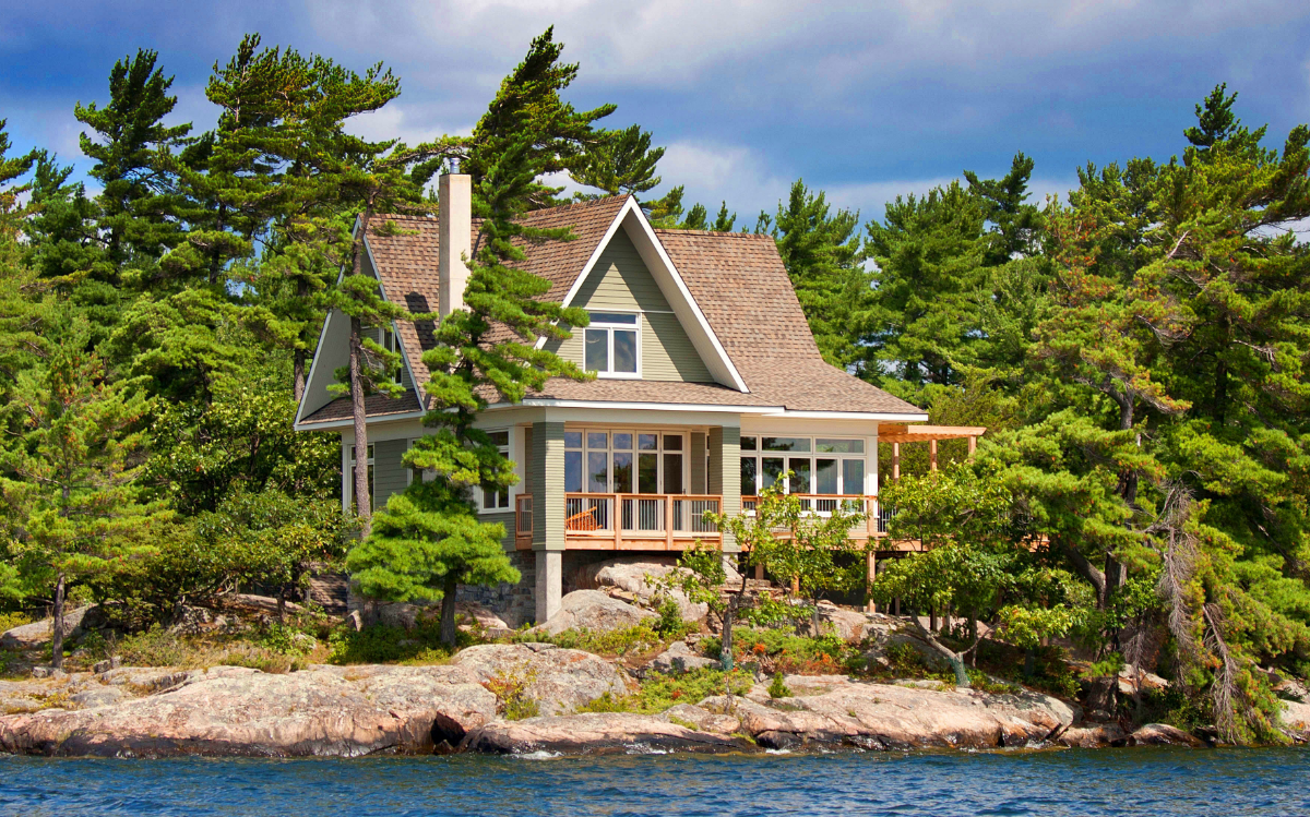 Parry Sound Cottage in summer