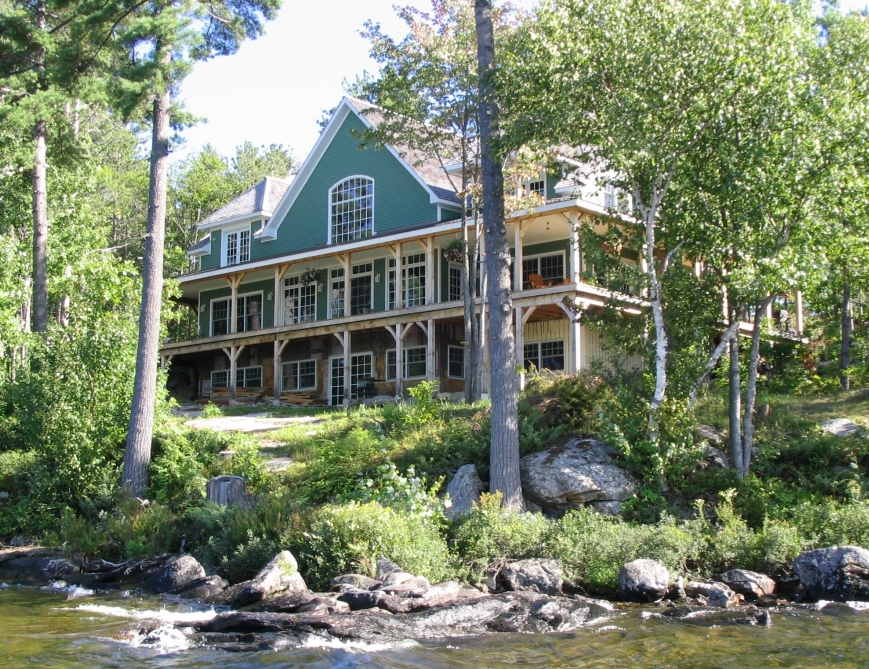 Muskoka luxury cottage on Rosseau