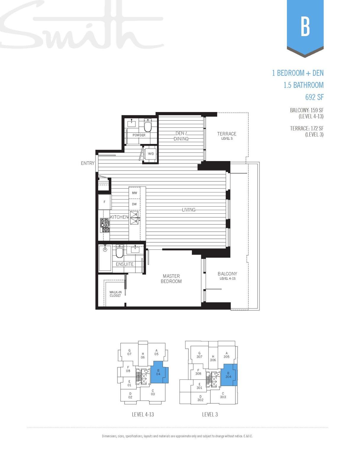 Smith Floorplan B