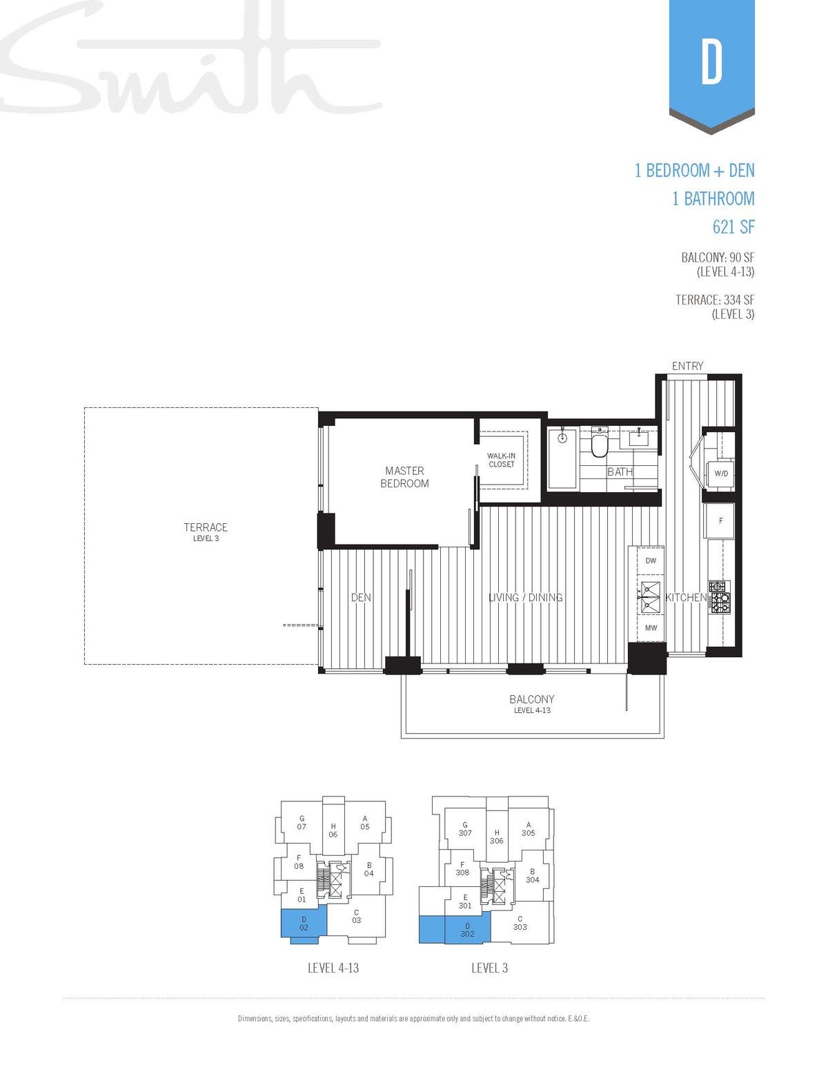 Smith Floorplan D