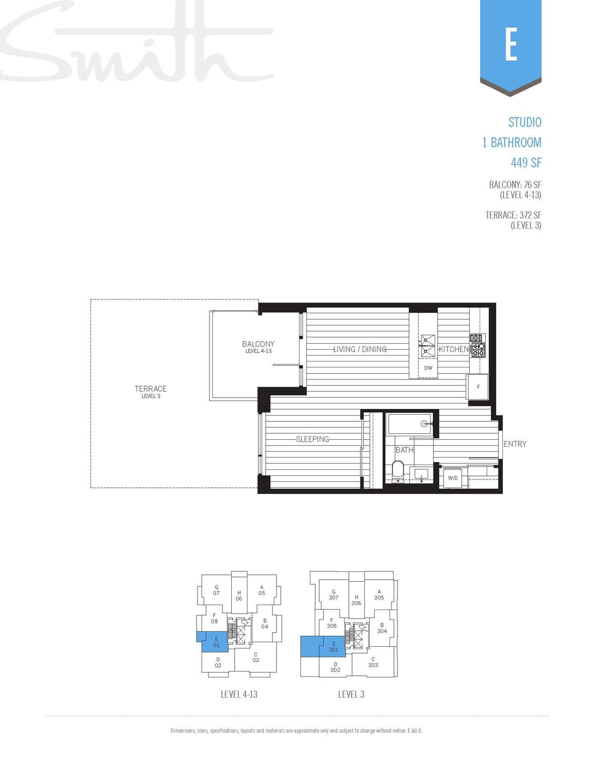 Smith Floorplan E