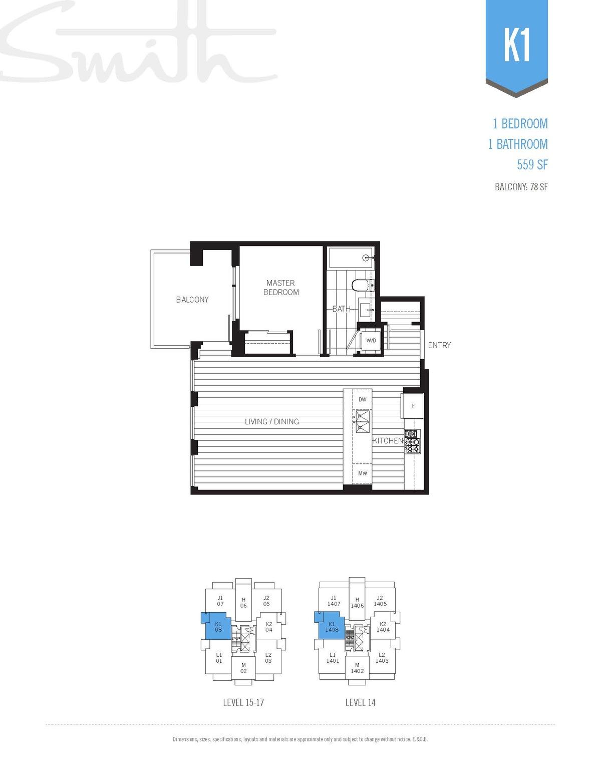 Smith Floorplan K1