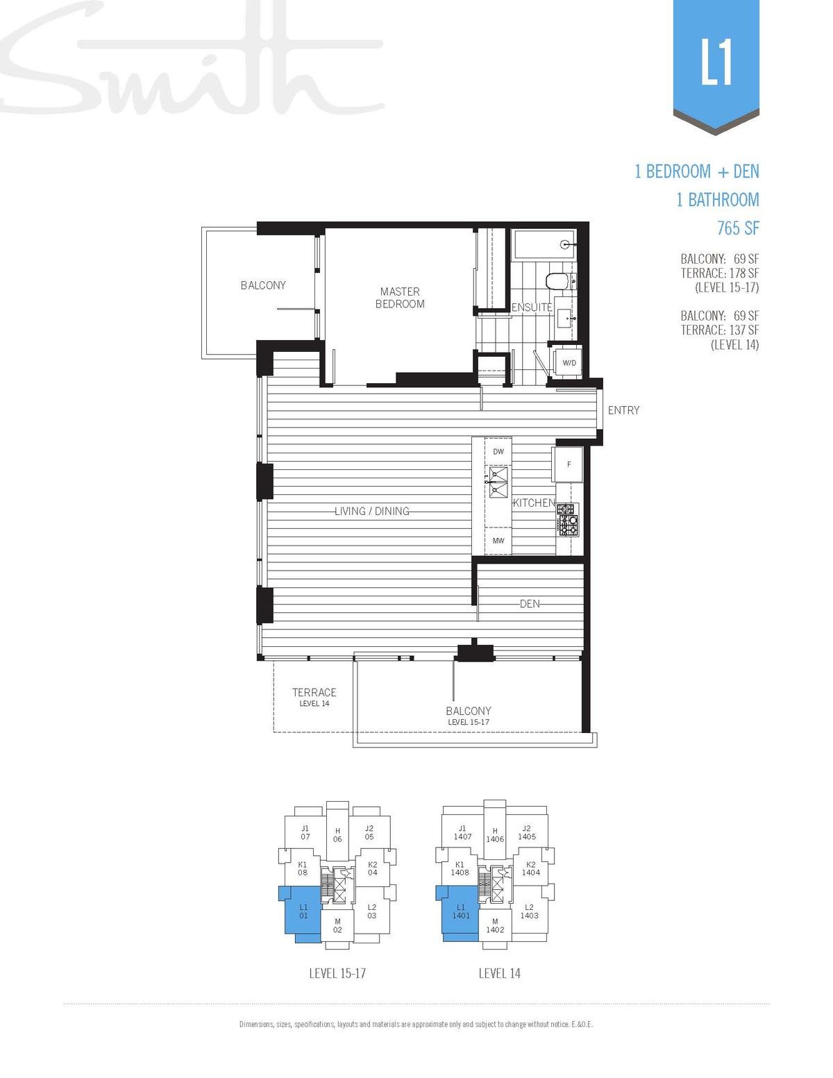 Smith Floorplan L1