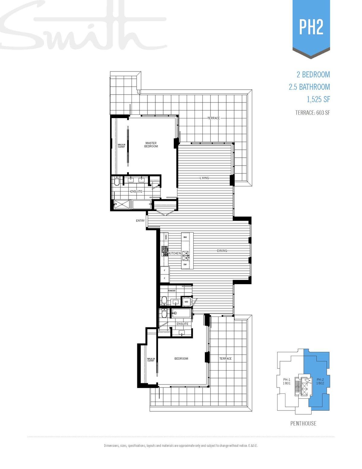 Smith Floorplan PH2