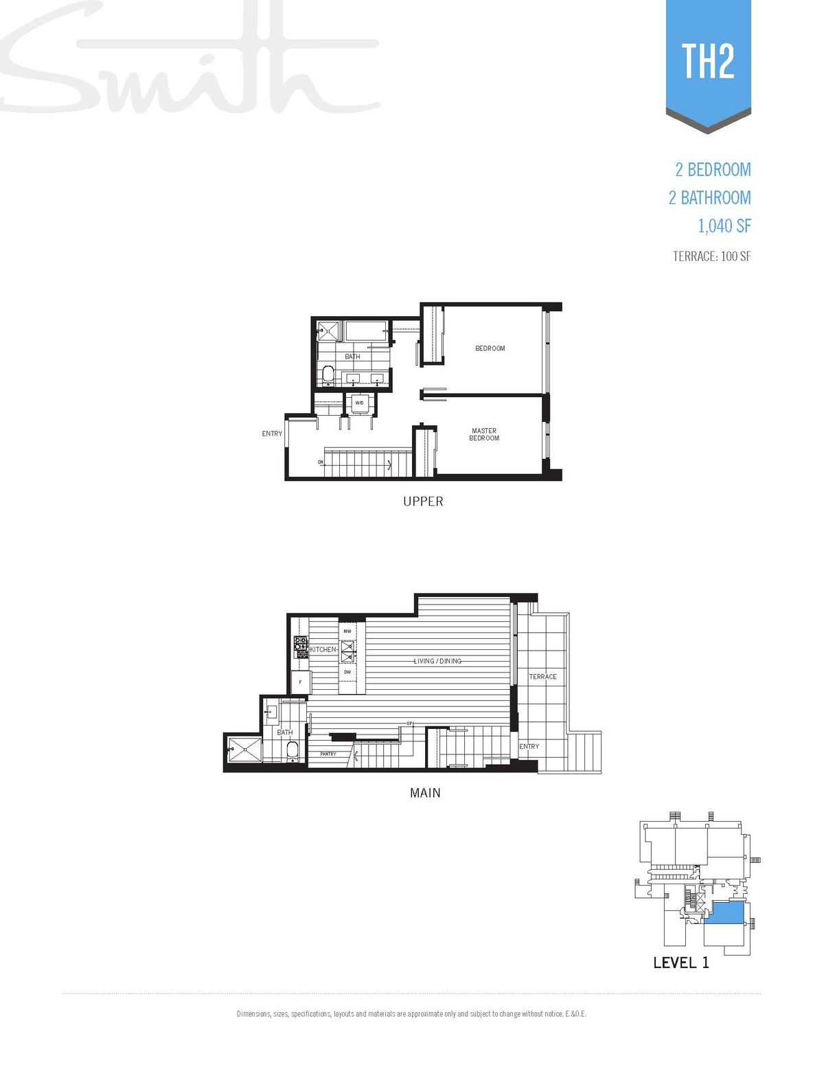 Smith Floorplan TH2