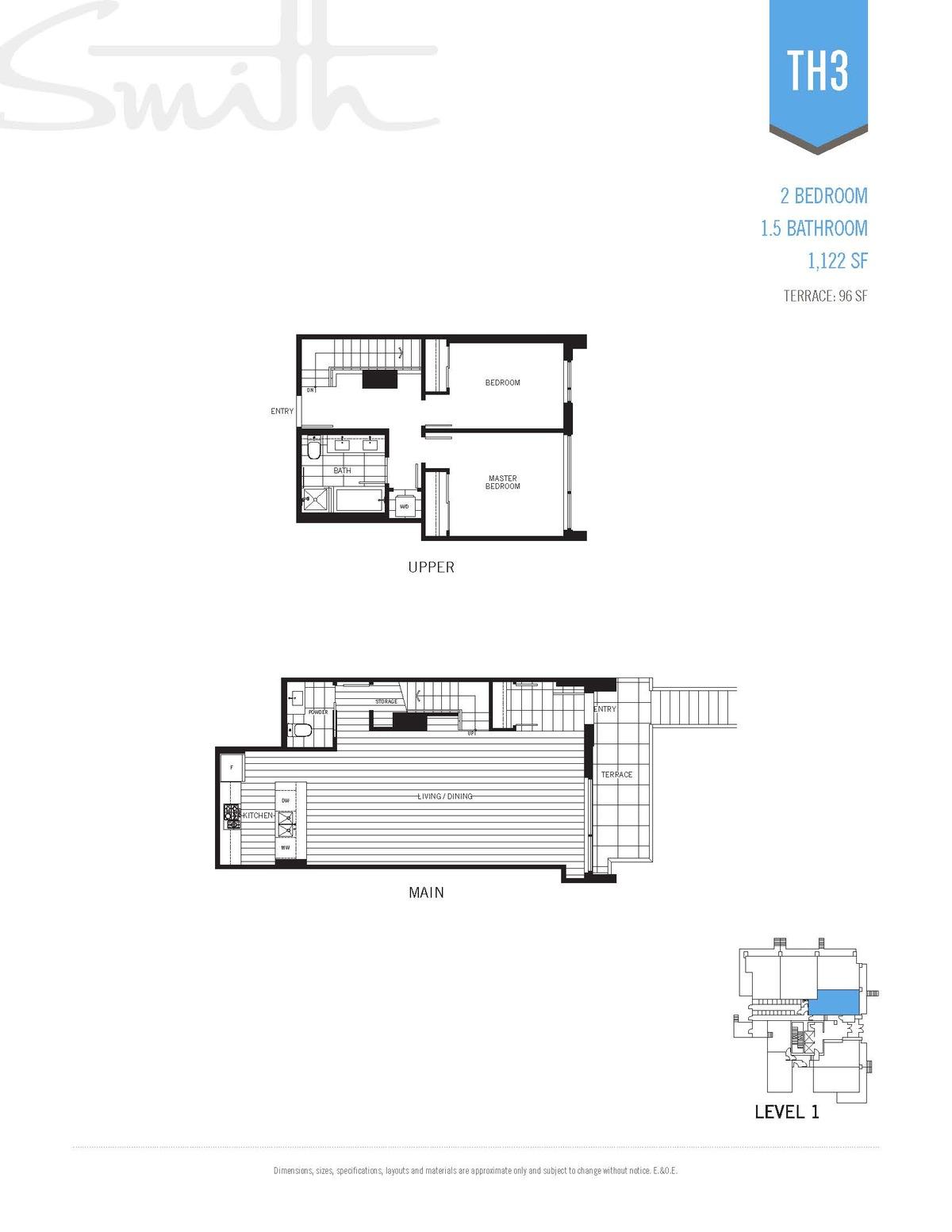 Smith Floorplan TH3