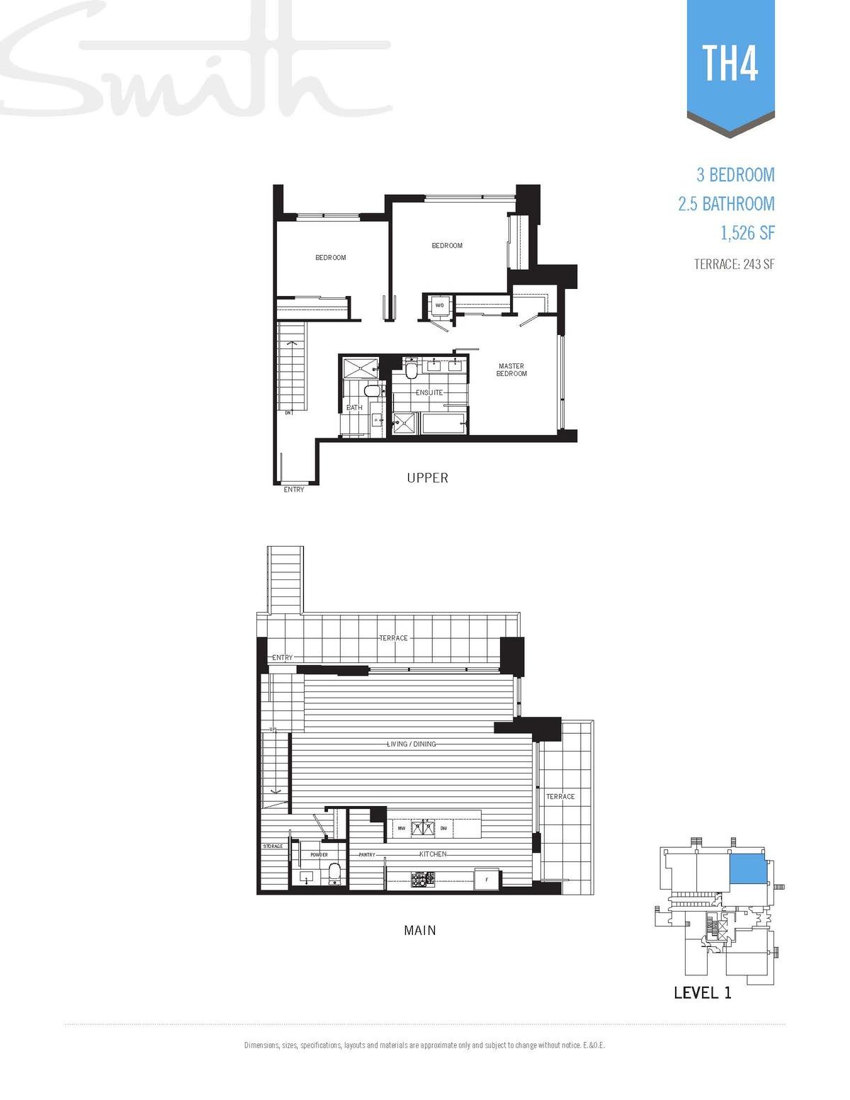 Smith Floorplan TH4