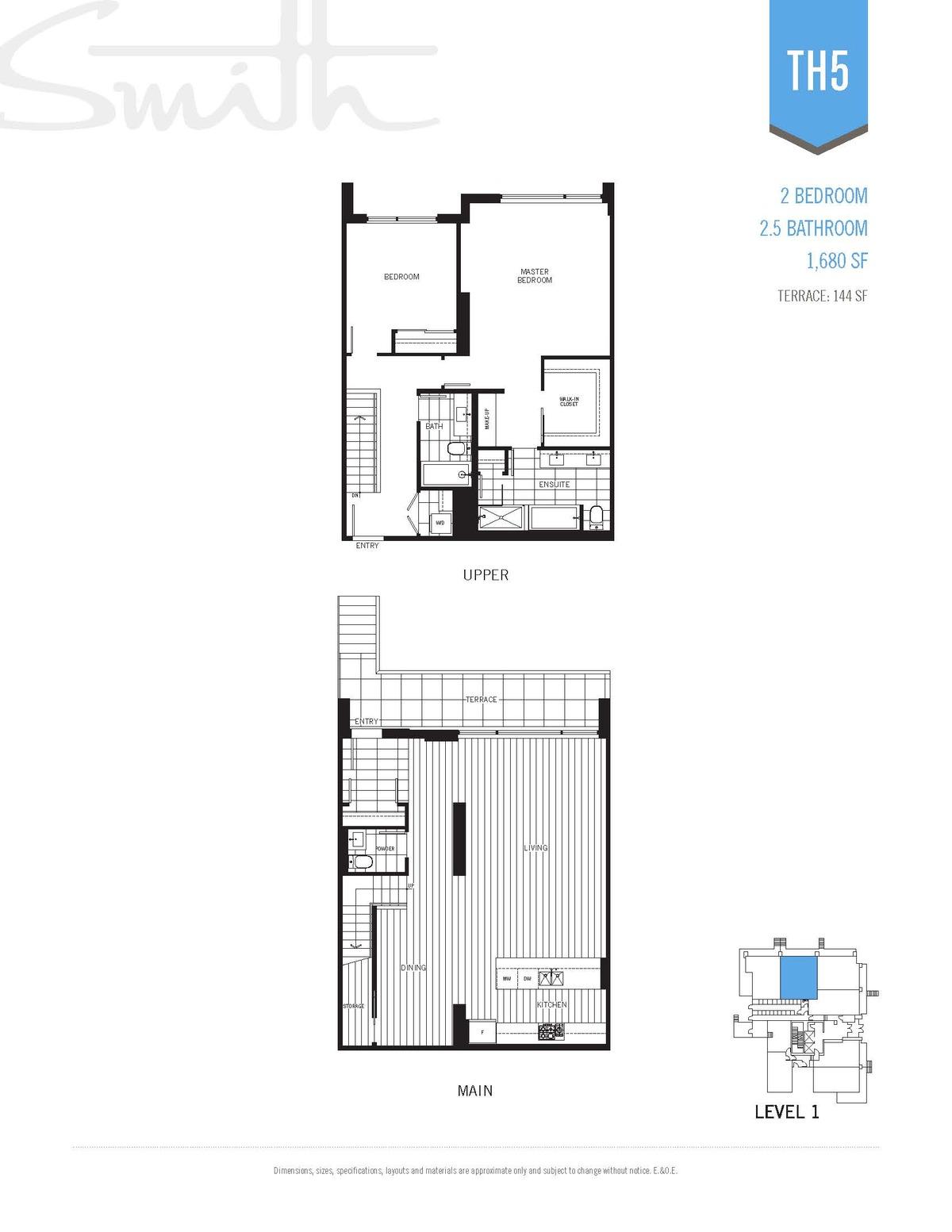 Smith Floorplan TH5