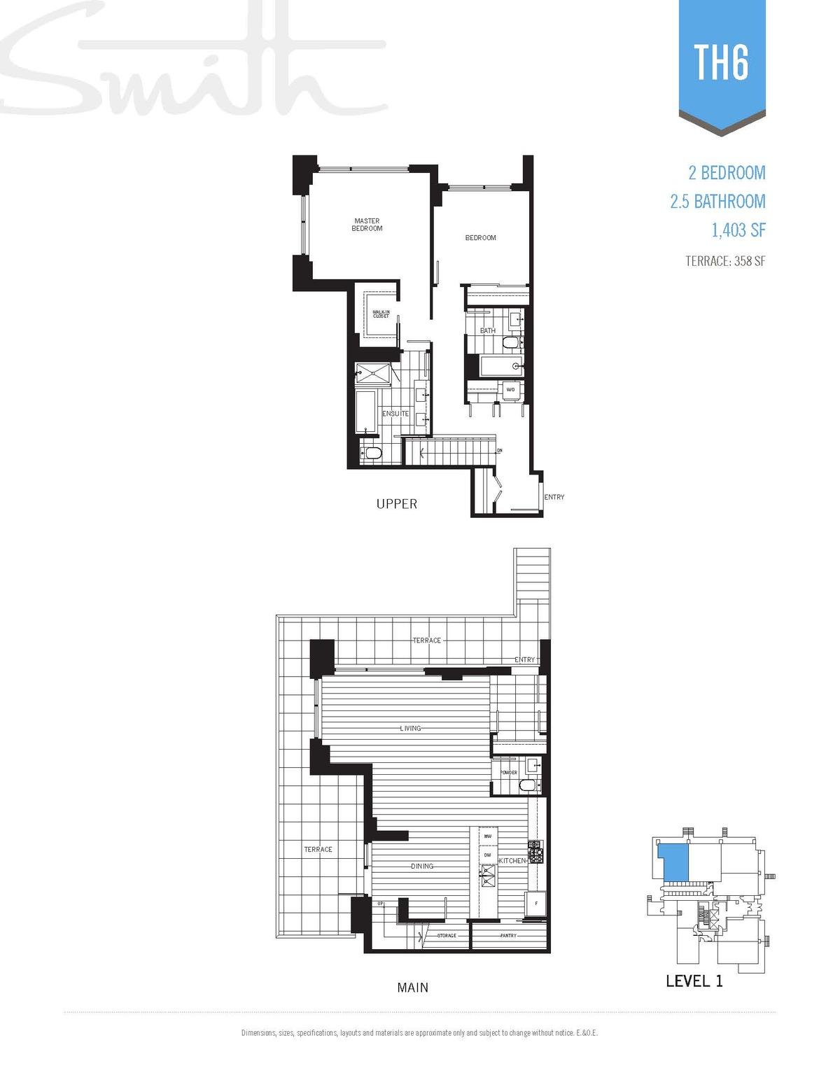 Smith Floorplan TH6