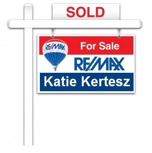 Katie Sold Sign