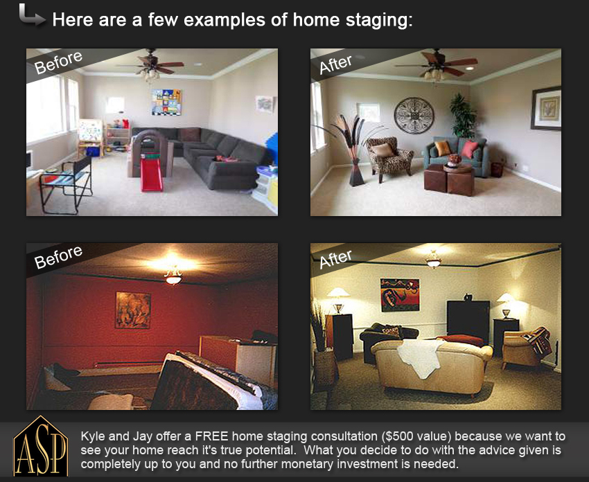before listing - staging