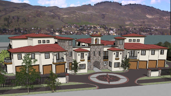 Tuscan Terraces Okanagan Lakeshore Development
