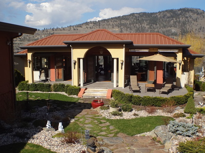 Okanagan Landing Lakefront Home for sale: 4 bedroom 3,740 sq.ft.