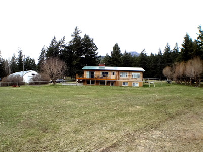 Falkland BC 159 Acres for sale:  4 bedroom 2,445 sq.ft. home.