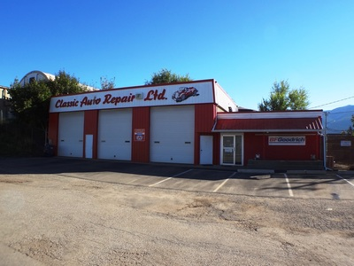 Armstrong Commercial for sale: Classic Auto Repair Ltd. 2,730 sq.ft. (Listed 2014-09-25) Armstrong, BC Real Estate