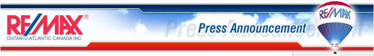 Re/Max Press Announcement
