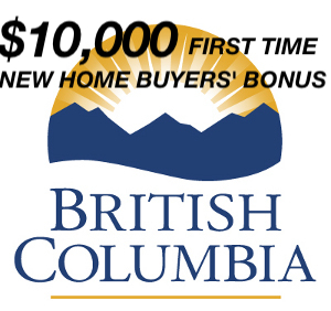 10K First Time New Home Buyers Bonus