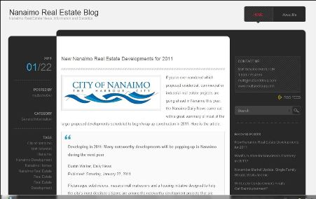 Nanaimo Real Estate Blog