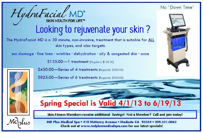 Hydrafacial special