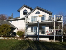 Gibsons Central Condo with ocean view for sale:  3 bedroom 1,506 sq.ft. (Listed 2013-01-22)