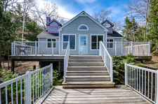 Six Mile Lake Waterfront Cottage for sale:  3 bedroom 1,289 sq.ft. (Listed 2017-05-04)