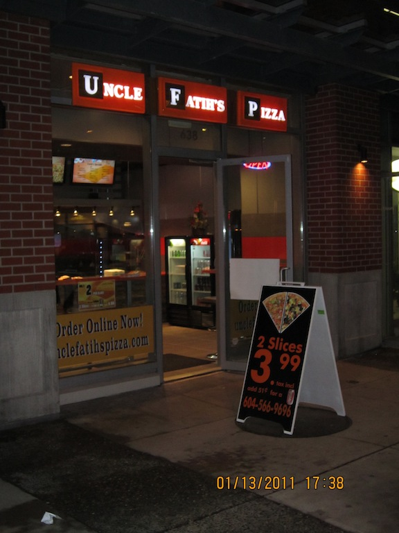 Uncle Faith's Pizza - Now Open in Crosstown Vancouver (MyCrosstown.com)
