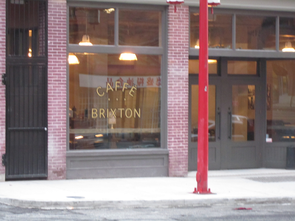 Caffe Brixton (212 E Georgia Street) Crosstown Vancouver #1