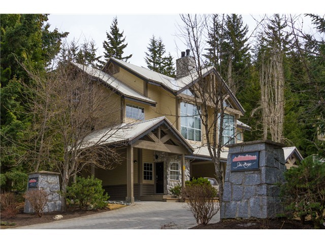 #whistlerrealestate town house for sale