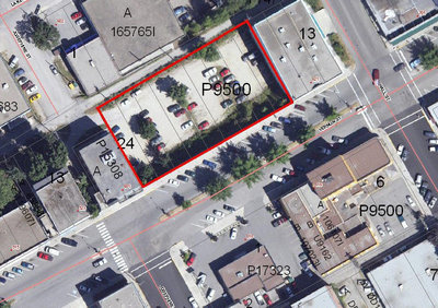Nelson, BC, Downtown Core commercial site for sale