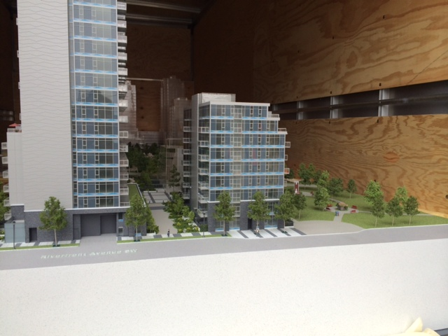 Waterfront Parkside Model