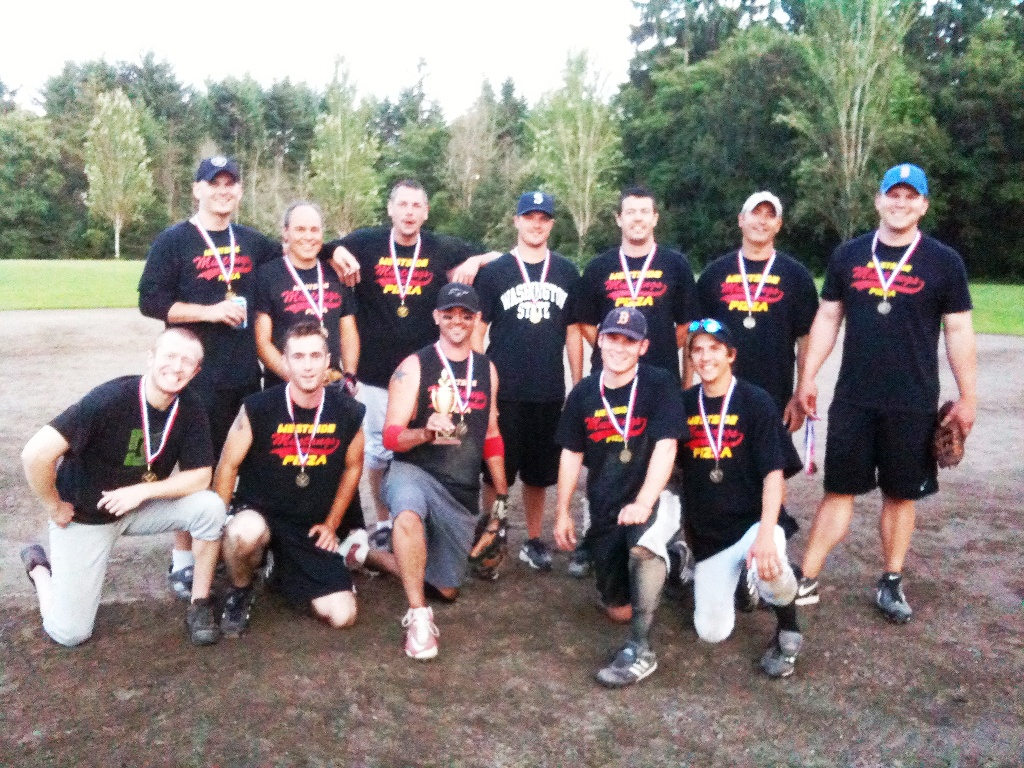 2011 BI Parks & Rec. Men's Softball Champs.