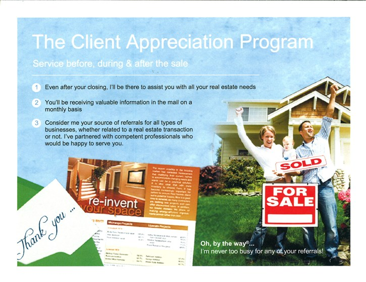 Client Appreciation Program