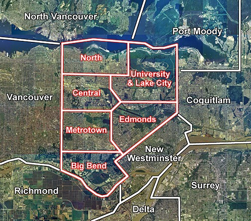 s of u burnaby map 1818 store