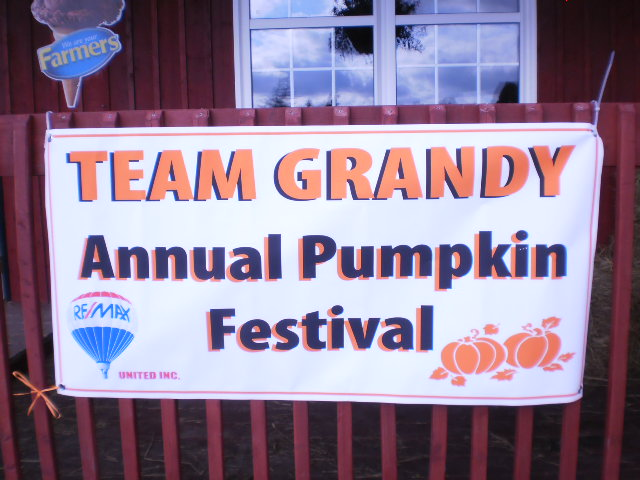 Welcome to the Team Grandy Pumpkin Festival!