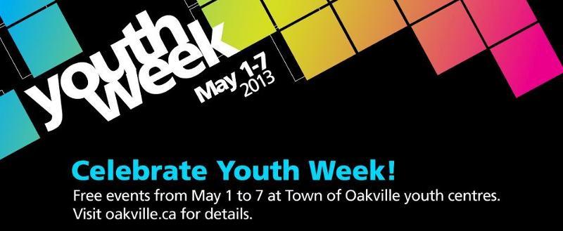 National Youth Week, May 1-7, 2013