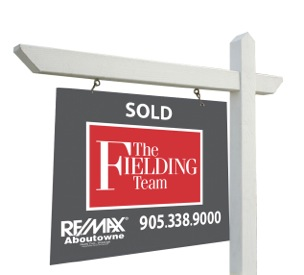 The Fielding Team Sold Sign