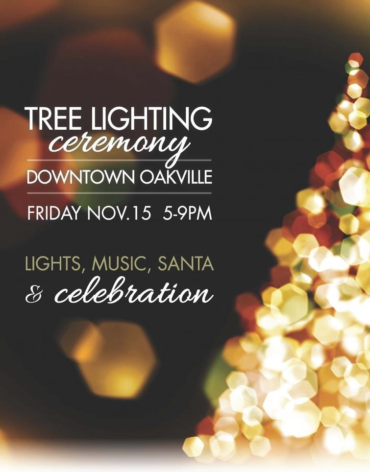Oakville Christmas Tree Lighting Ceremony