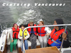 Crusing Vancouver Harbor
